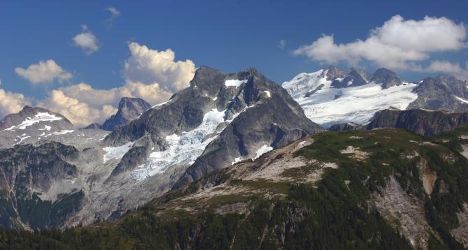 Whatcom Paek and Mt Challenger