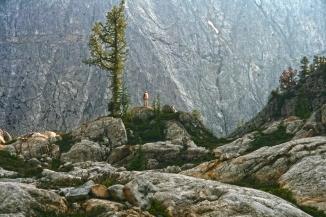 Just west of Park Creek Pass, overlooking Buckner Mountain