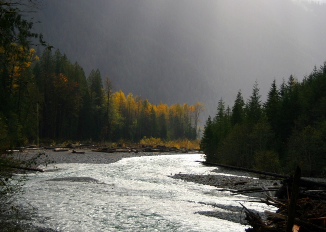 Baker River, North Cascades