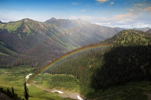 Rainbows at Rock Pass