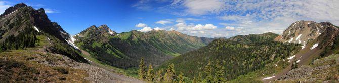 Rock Pass Panorama