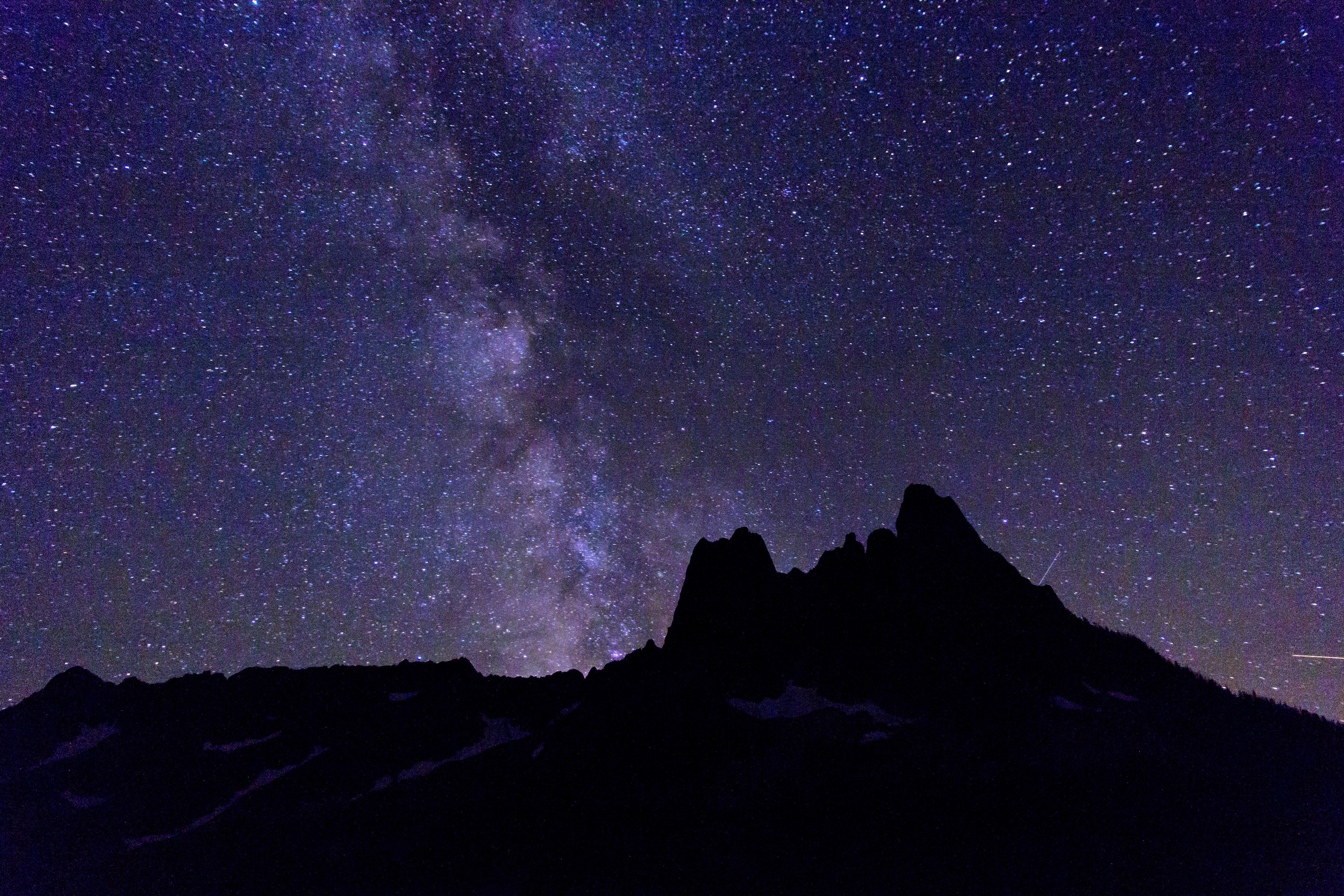 stars mountain night - photo #25