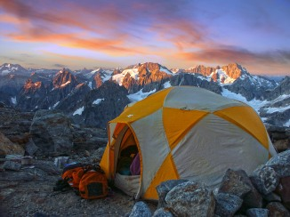 Sunrise, Steven Mather Wilderness - North Cascades National Park