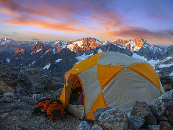 Sunrise, Steven Mather Wilderness - This image will be displayed in the Smithsonian Museum as a part of the Wilderness 50 Celebration starting on Sept. 3rd, 2014