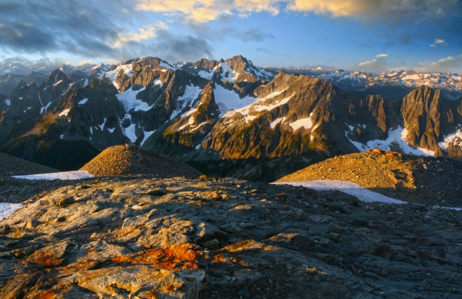 Sahale Glacier Camp, North Cascades National Park