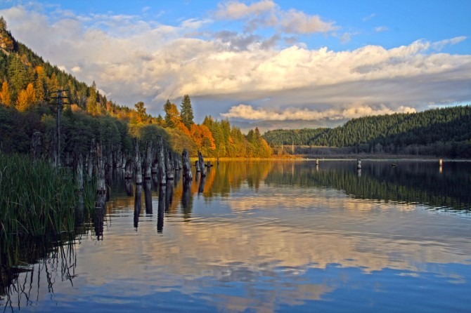 Grandy Lake, Skagit County, Washington