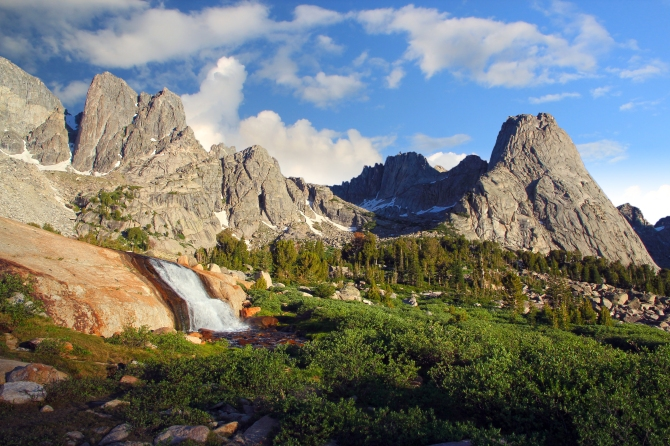 Pingora Peak in the Morning Light, Cirque of the Towers, Wind River Range, Wyoming
