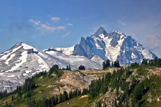 Mount Shuksan from Copper Ridge