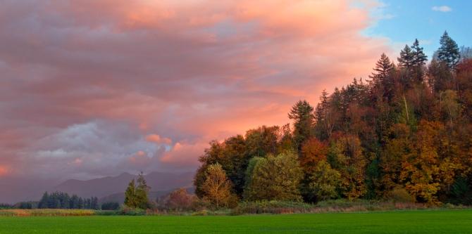 Sunset Oct. 16