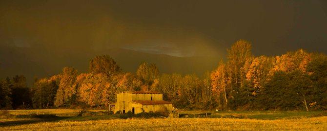 Barn Sunset Nov 3 2011 em