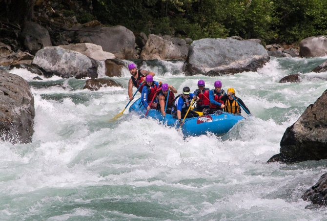 Skykomish River Rafting 1