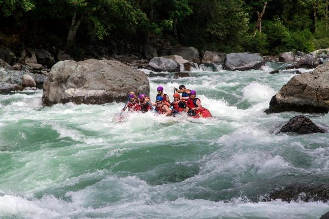 Skykomish River Rafting 10