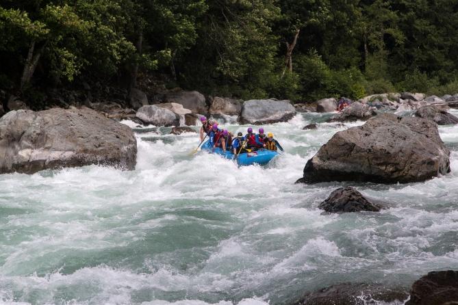 Skykomish River Rafting 2