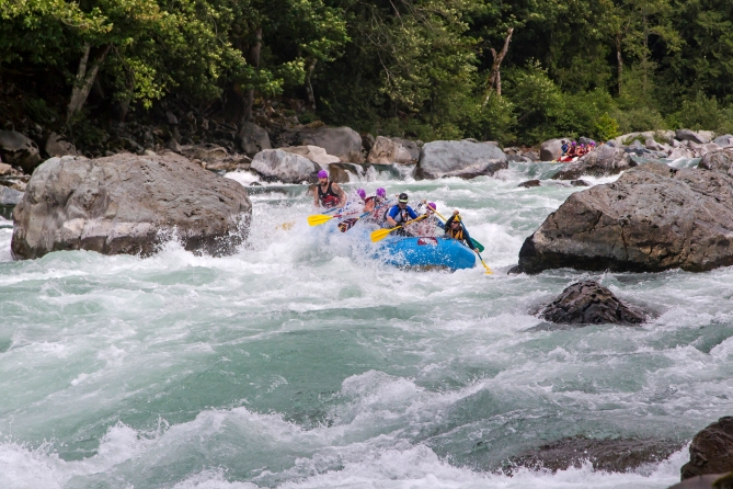 Skykomish River Rafting 3