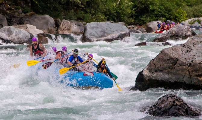 Skykomish River Rafting 4