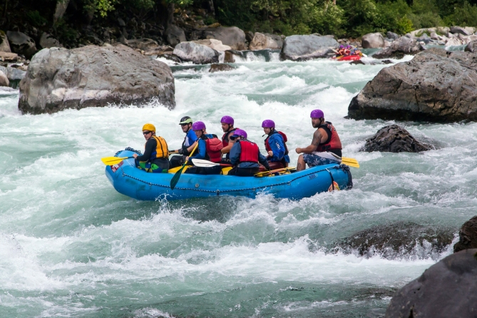 Skykomish River Rafting 6