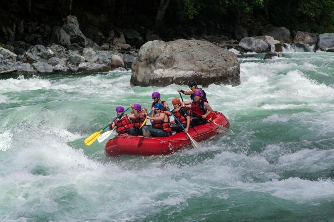 Skykomish River Rafting 7