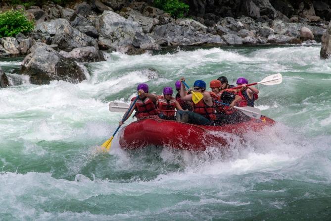 Skykomish River Rafting 8