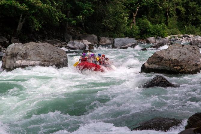 Skykomish River Rafting 9