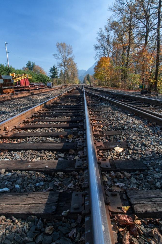 Railroad Tracks - 2, Goldbar