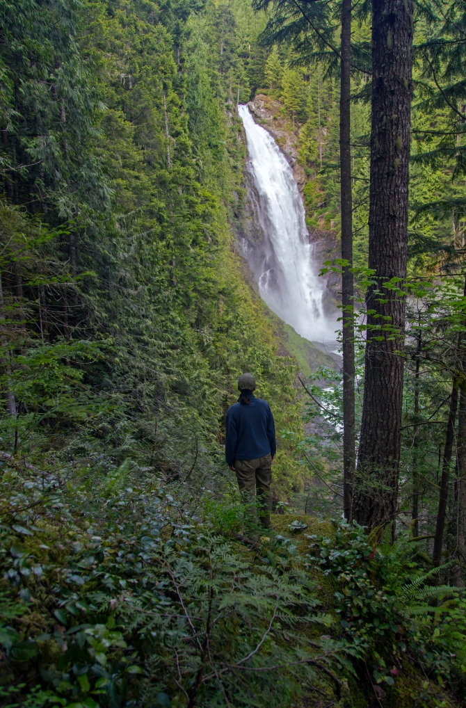 Wallace Falls person