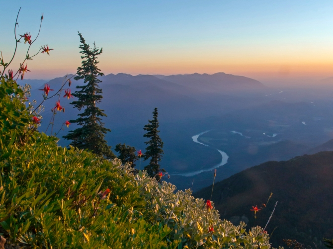 Skagit Valley from Sauk Mountain