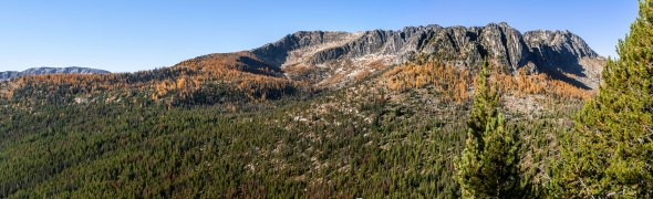 Amphitheater Mountain, Pasayten Wilderness