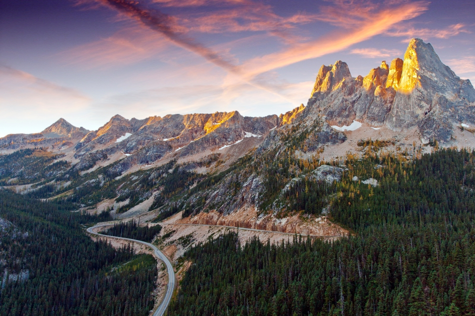 Liberty Bell from North Cascades Highway
