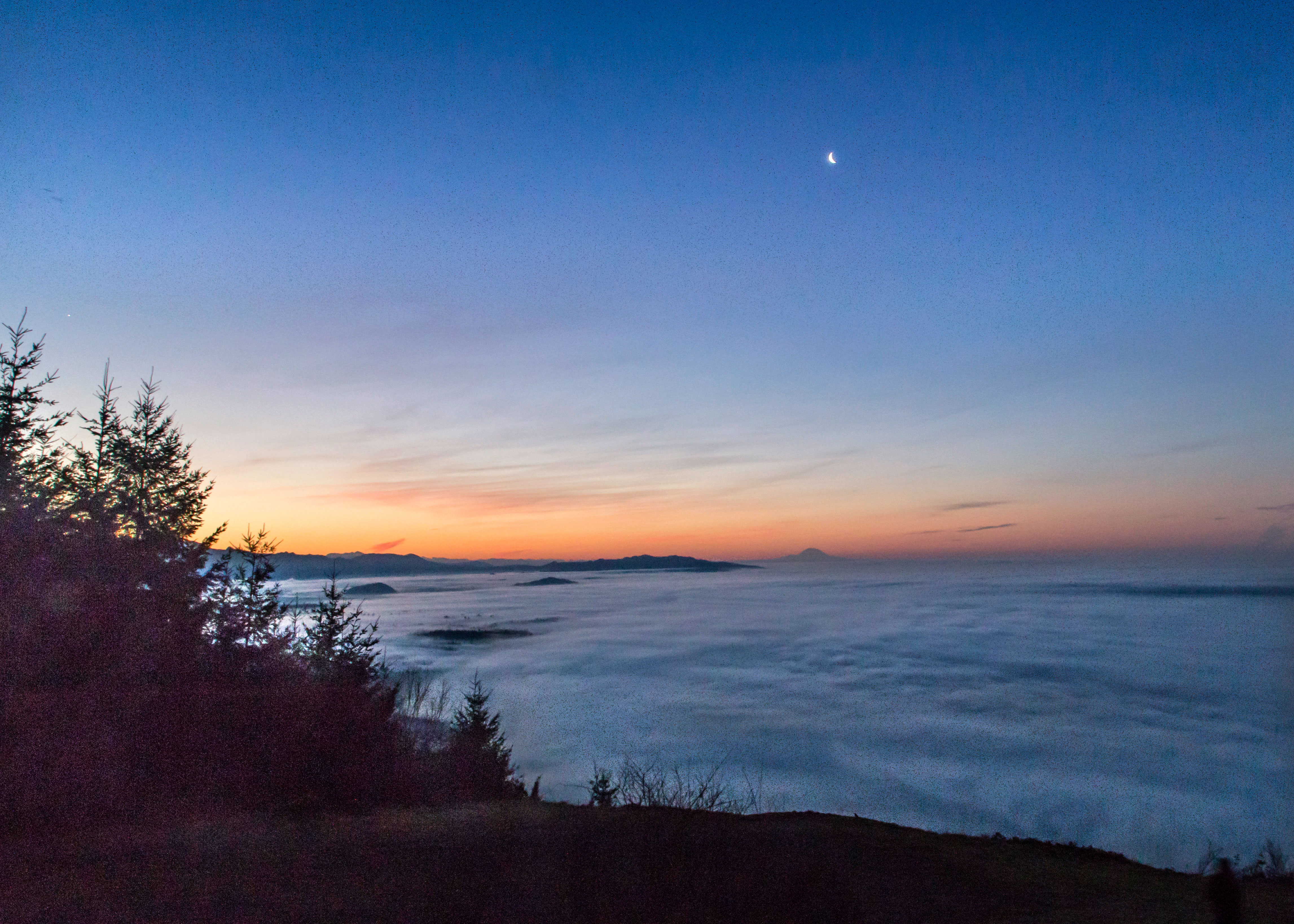 Sunrise over Skagit Valley | North Western Images - photos by Andy ...