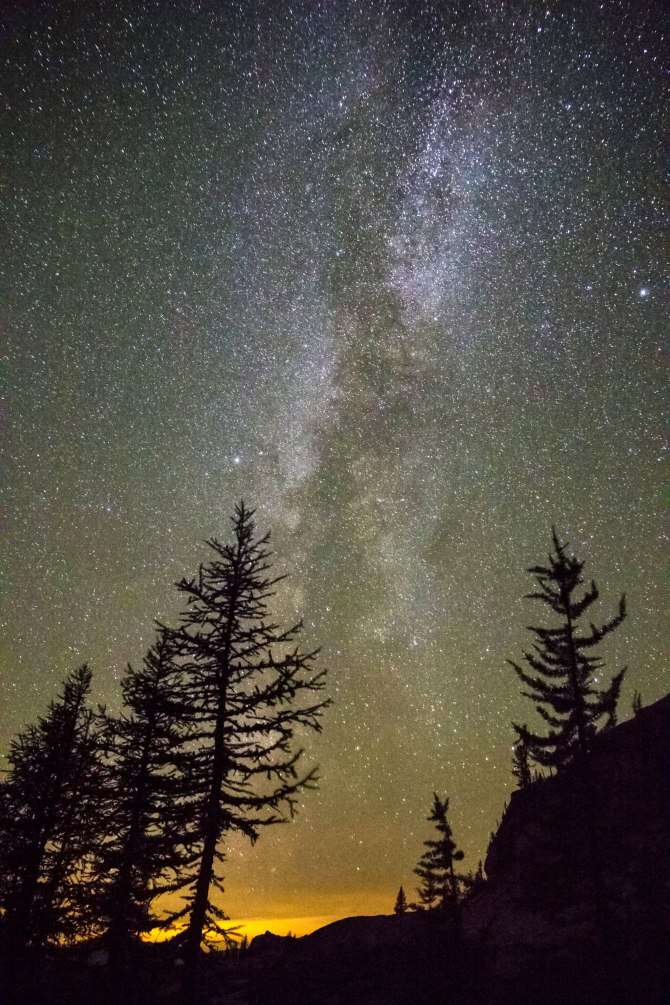 Milky Way fro  Cutthroat Pass