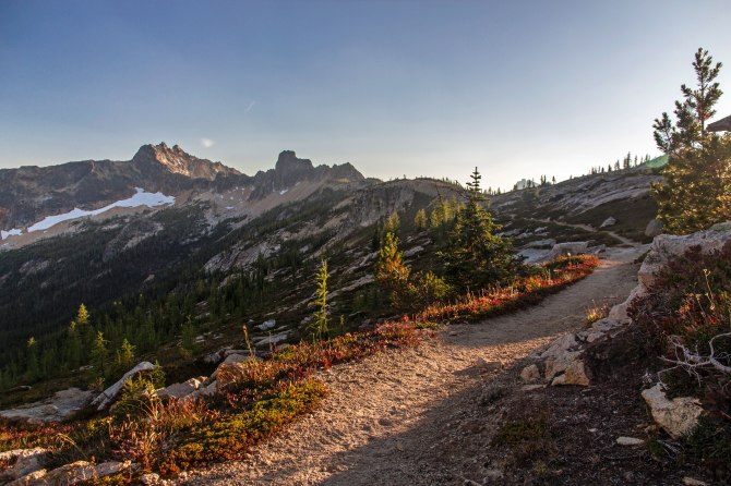 Cutthroat Pass Trail