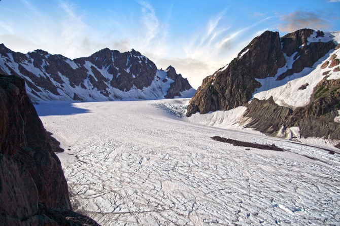 Mount Olympus and Blue Glacier Image 5