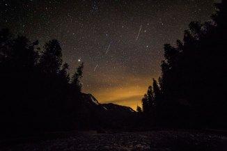 Stars along the Baker River