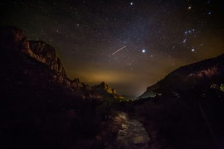 Zion National Park: Virgin River and Orion