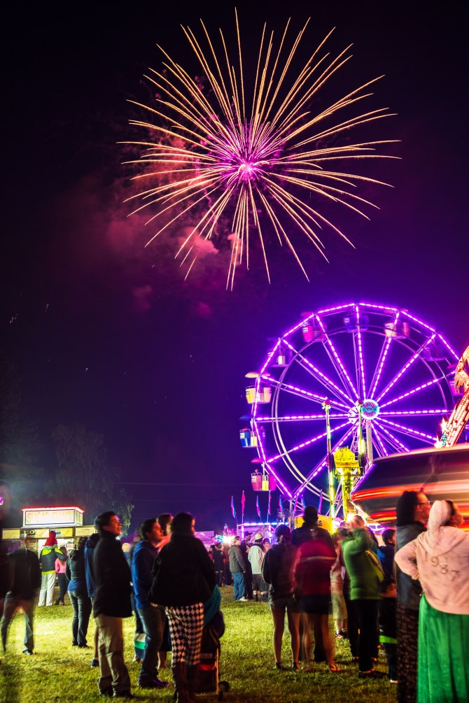 Sedro-Woolley July 4th Carnival and Fireworks