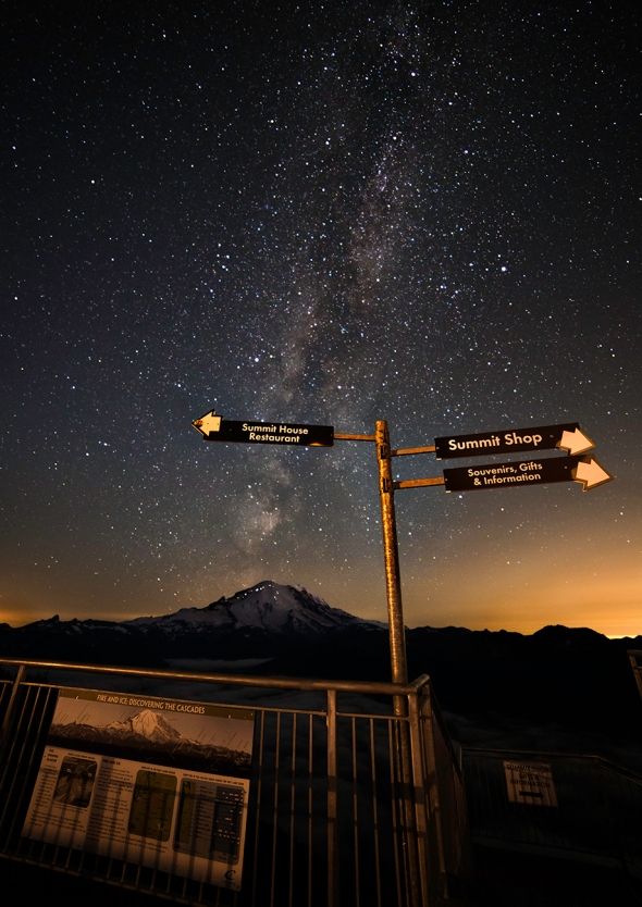 Mount Rainier from Crystal Mountain Resort