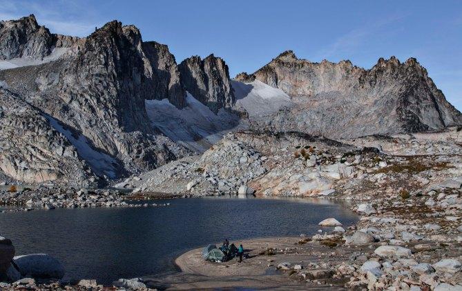 Camped at Isolation Lake