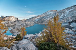 Isolation Lake, Enchantments, Alpine Lakes Wilderness