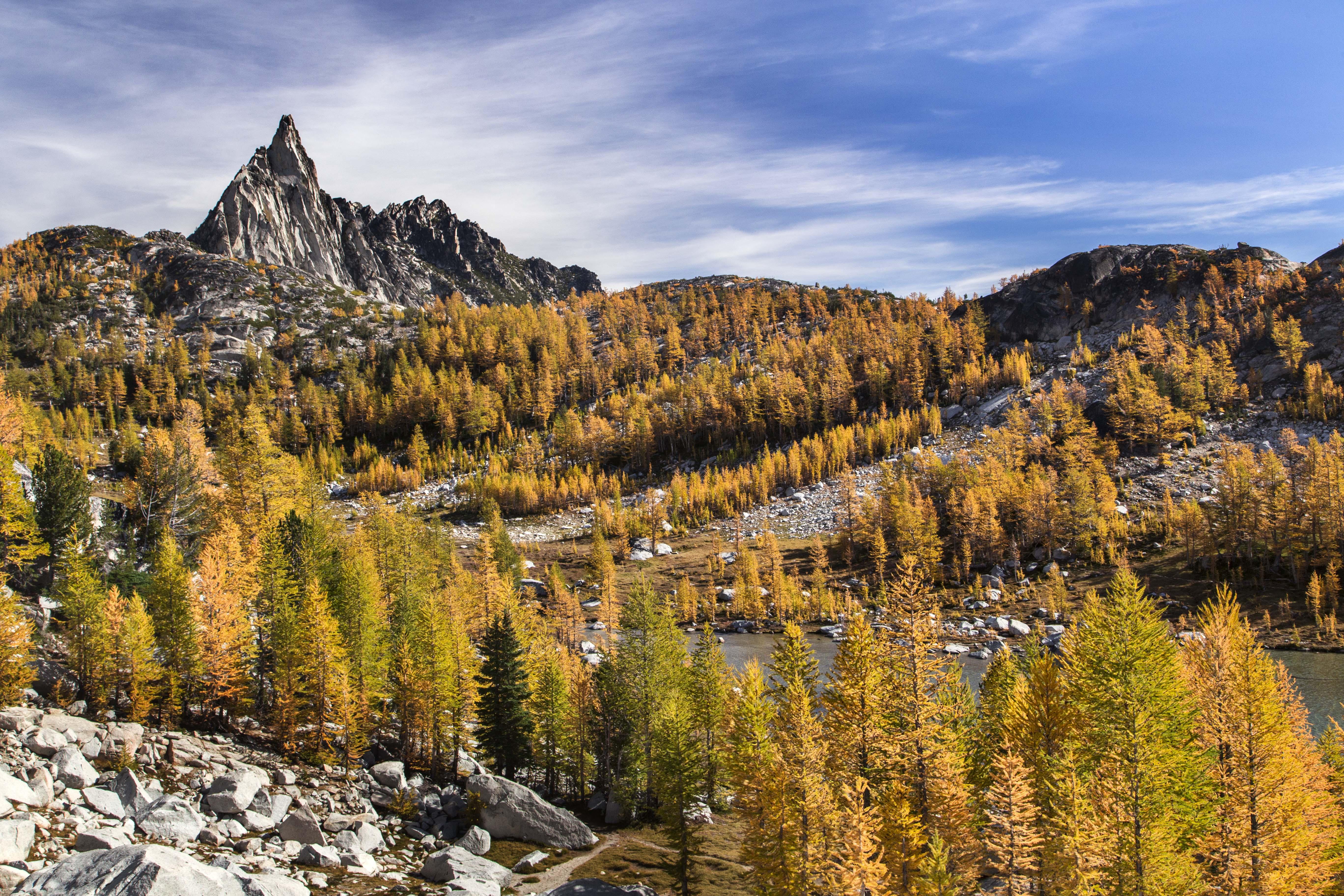 Little Annapurna, Enchantments, Alpine Lakes Wilderness, Washington загрузить