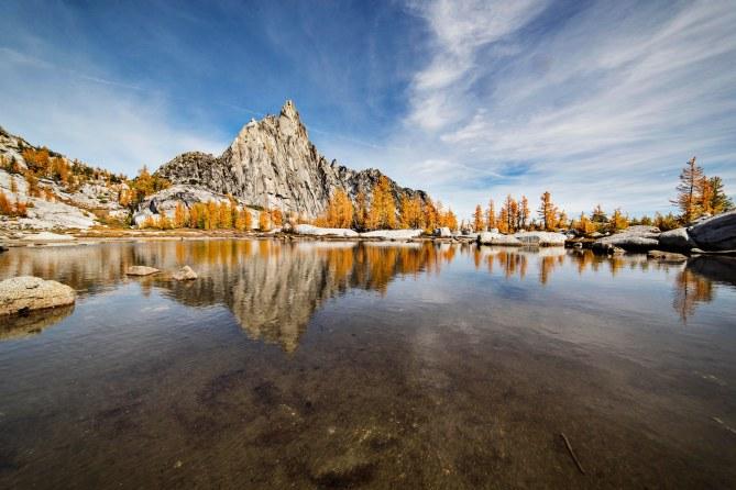 Prusik Peak Reflected