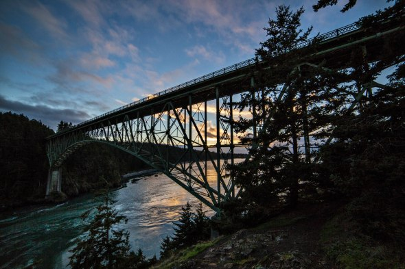 Deception Pass State Park Bridge