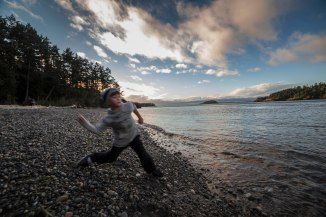 Deception Pass State Park Throwing