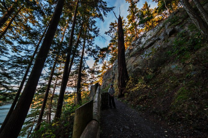 Deception Pass State Park Trail