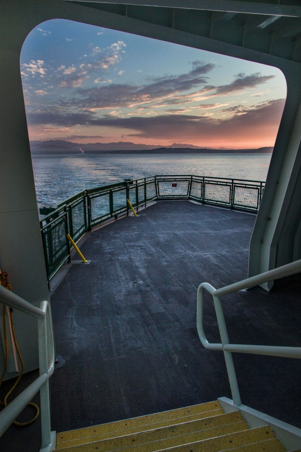 On the Port Townsend Ferry