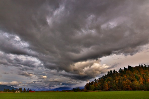 Skagit Valley Fall Sunset