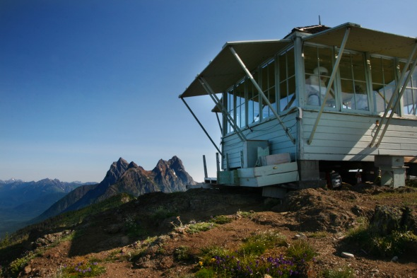 Desolation Peak Lookout