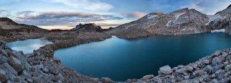 Isolation Lake Panorama, Alpine Lakes Wilderness