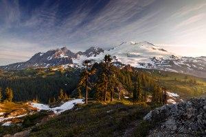 Mount Baker in the Morning