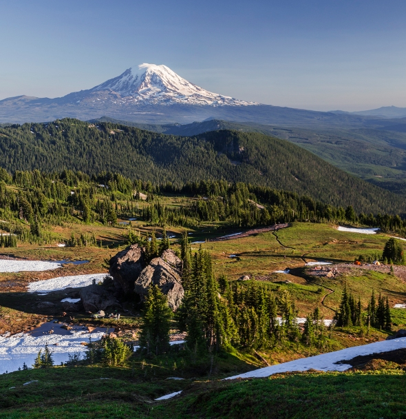 Mt Adams and Pacific Crest Trail, Goat Rocks Wilderness