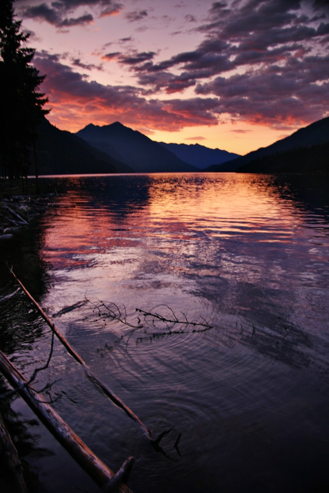 Ross Lake Sunset